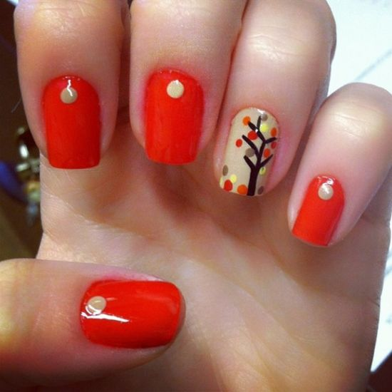 fall nail art 50 amazing fall nail designs for 2014 nail design ideaz 12801