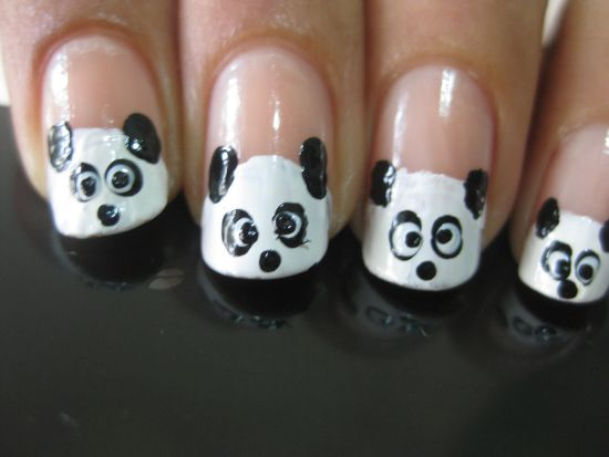 Panda Nail Art Tutorial