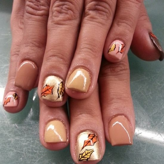 Fall Nail Designs - 50 Amazing Fall Nail Designs For 2014 Nail Design Ideaz