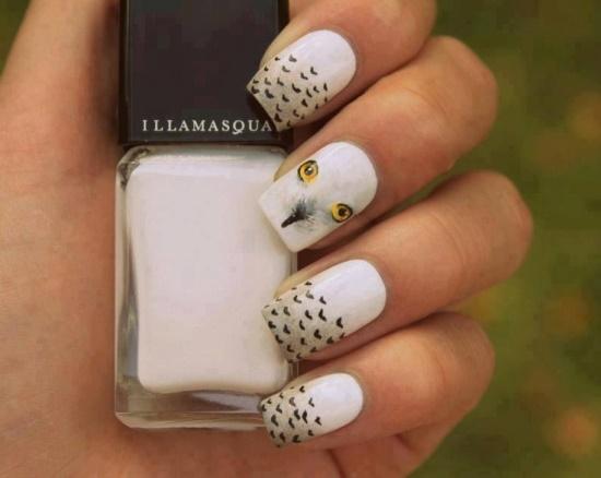 40 Cute Owl Nail Art Designs Nail Design Ideaz