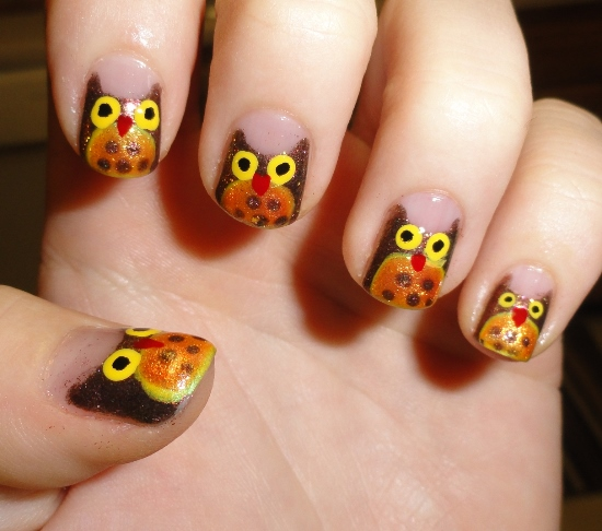 40 Cute Owl Nail Art Designs Nail Design Ideaz