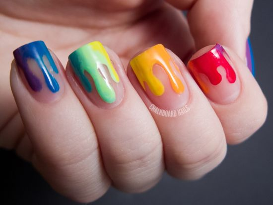 40 Gorgeous Rainbow Nail Art Ideas