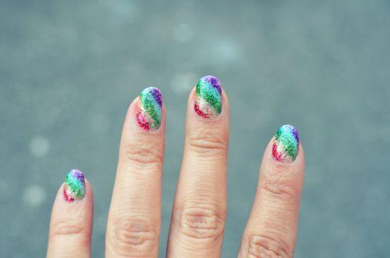 Rainbow Nail Polish