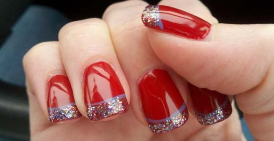 40 Red Wedding Nail Art Designs | Nail Design Ideaz