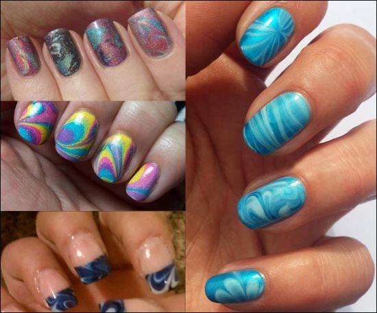 Marble Nail Designs