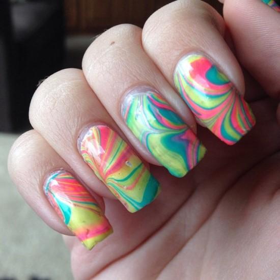 Marble Nail Polish