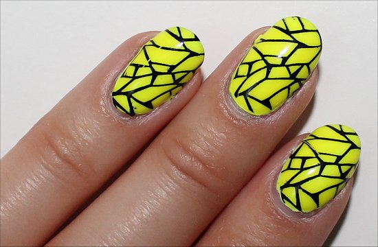 Yellow Nail Art Ideas