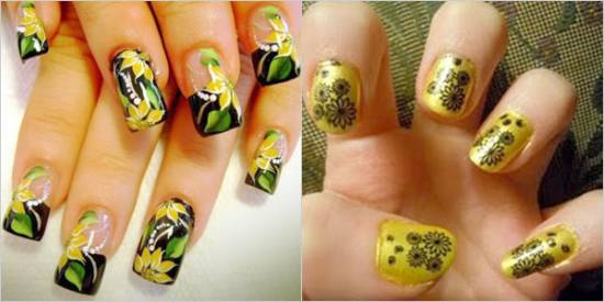 Yellow Nail Designs - 45 Yellow Nail Art Ideas You Can Try Nail Design Ideaz