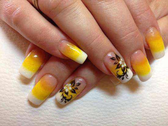 Yellow Nails