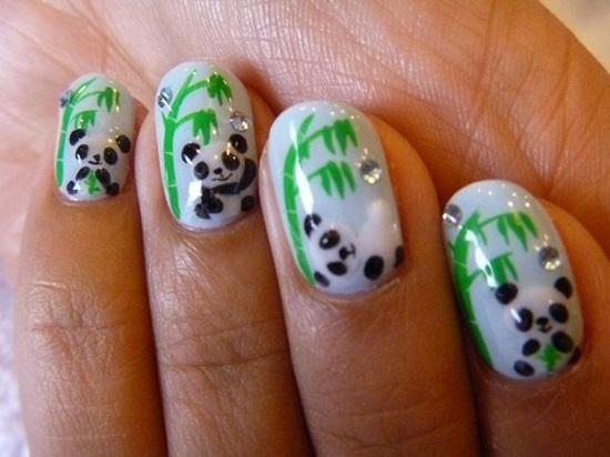 Animal Nail Art Ideas