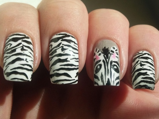 Animal Nail Art Ideas