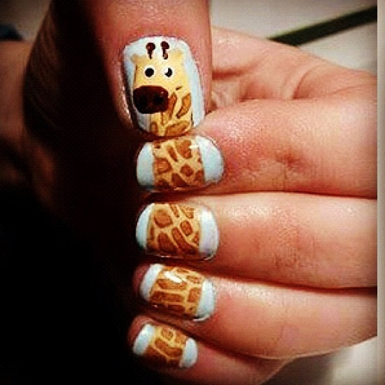Animal Nail Art: 40 Animal Print Nail Art To Inspire You