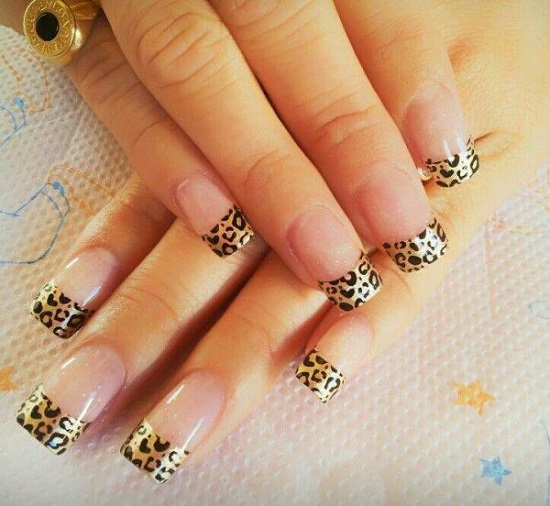 Animal Print Nail Art - 40 Animal Print Nail Art To Inspire You Nail Design Ideaz
