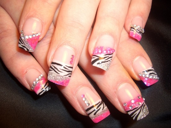 40 Animal Print Nail Art To Inspire You Nail Design Ideaz