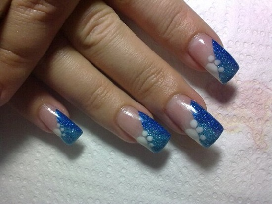 Blue Nail Art Designs