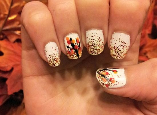 50 amazing fall nail designs for 2014 nail design ideaz fall nail designs 2014 prinsesfo Image collections