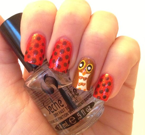 Fall Nails Designs - 50 Amazing Fall Nail Designs For 2014 Nail Design Ideaz