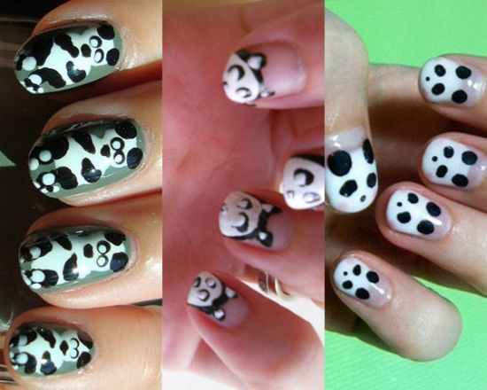 Panda Nail Designs - 40 Cute Panda Nail Art Designs For Winter Nail Design Ideaz