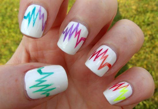 40 Gorgeous Rainbow Nail Art Ideas Nail Design Ideaz