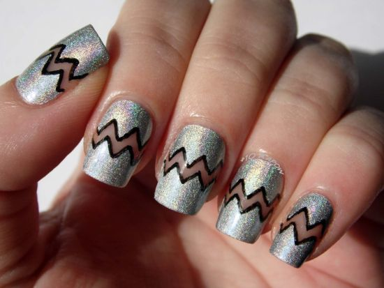 Negative Space Nail Designs