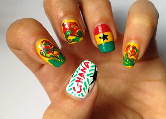 Football Nail Ideas