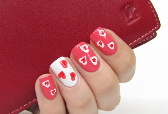 Valentines Day Nail Designs