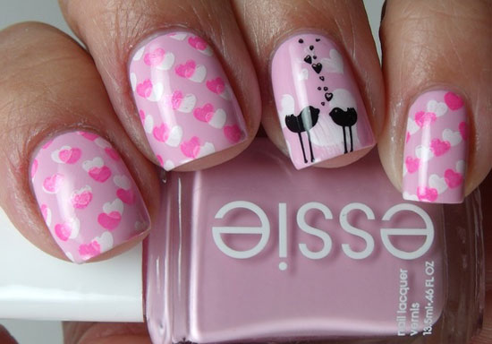 Valentine Nail Designs - 40 Heart Nail Designs For Valentine's Day Nail Design Ideaz