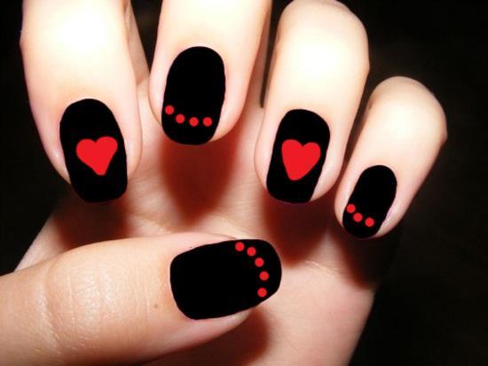 Heart Nail Designs