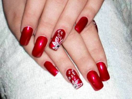 40 Red Wedding Nail Art Designs Nail Design Ideaz