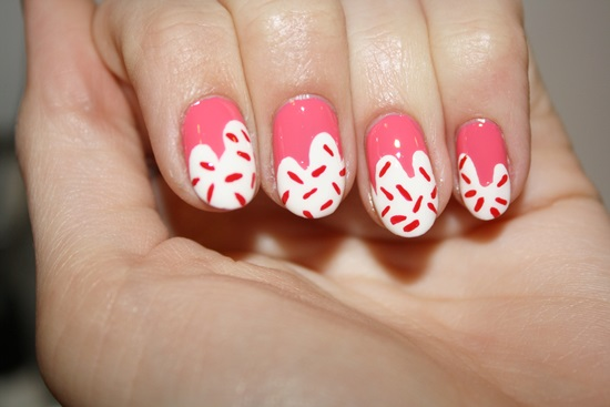 Cupcake nail art tutorial - 15 Cute Cupcake Nail Art Tutorials Nail Design Ideaz