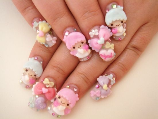 Japanese Nail Designs - 50 Stunning Japanese Nail Art Designs Nail Design Ideaz