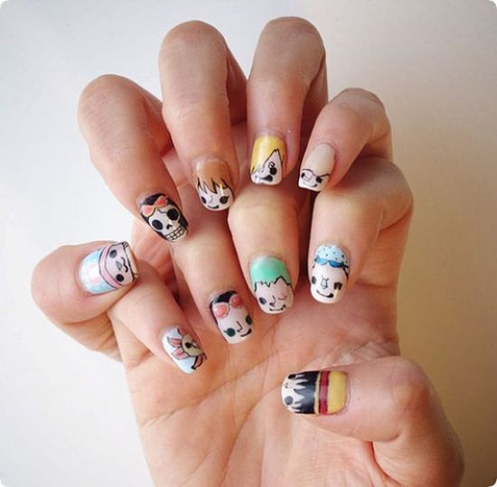 55 Beautiful Japanese Nail Art Designs: 50 Stunning Japanese Nail Art Designs