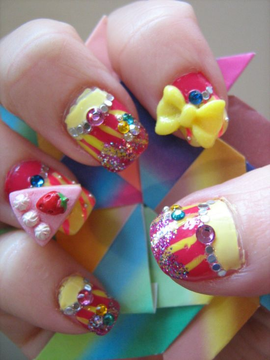 Japanese Nail Art Design
