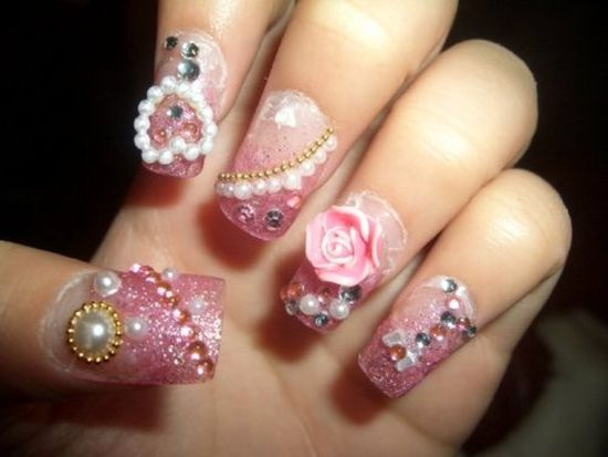 50 Stunning Japanese Nail Art Designs