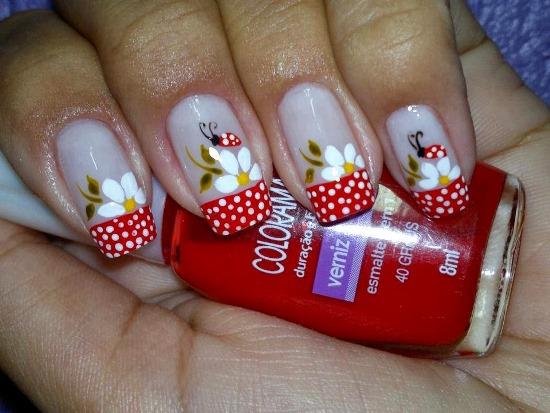 Ladybug Nail Designs