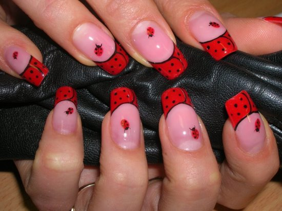 Cute Ladybug Nail Art The Best Inspiration For Design And Color Of