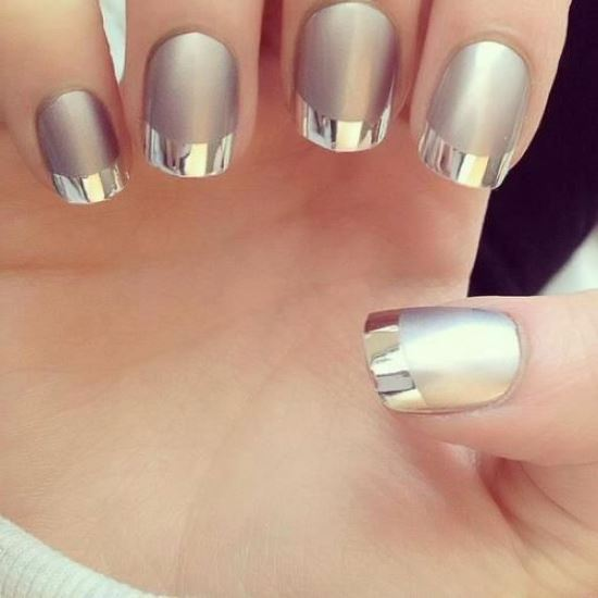 Silver Nail Art Designs - 40 Pretty Silver Nail Art Designs Nail Design Ideaz