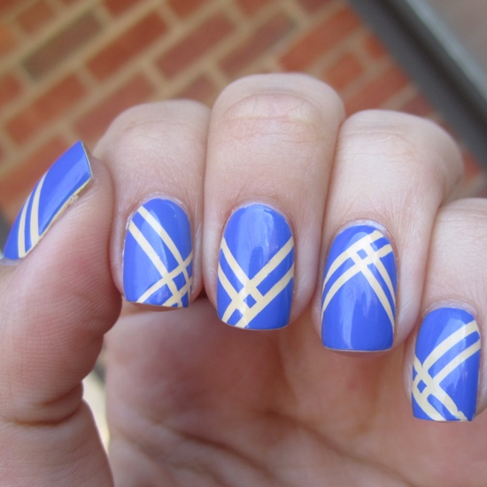 40 Killer Striping Tape Nail Art Designs Nail Design Ideaz