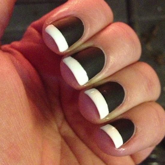 40 Black And White Nail Art Designs Nail Design Ideaz