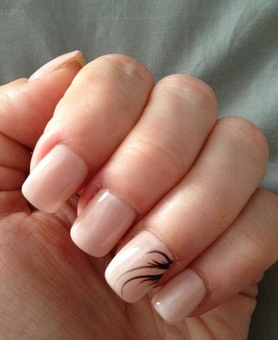 Nude Nail Art