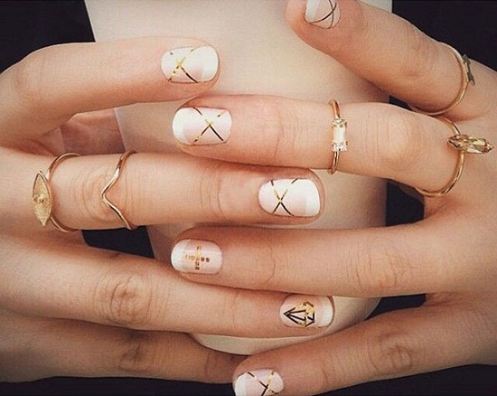 40 gorgeous nude nail designs nail design ideaz nude nails prinsesfo Images