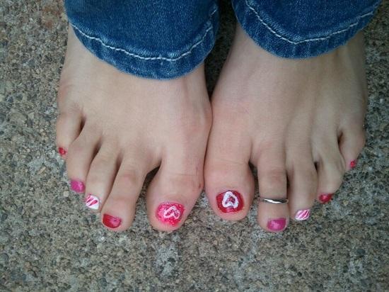Valentines Day Nail Designs