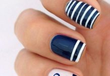 Anchor Nail Art