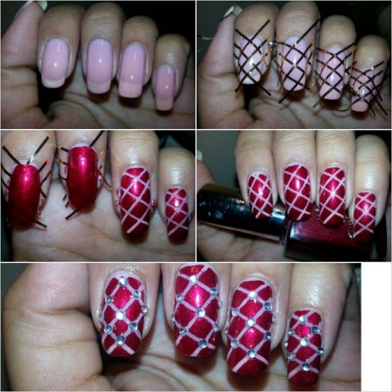 Striping Tape Nail Designs