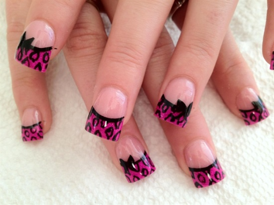 50 stylish bow nail art designs nail design ideaz bow nail art designs prinsesfo Image collections