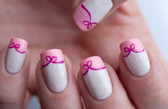 Bow Nail Designs