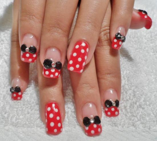 50 stylish bow nail art designs nail design ideaz bow nails prinsesfo Images
