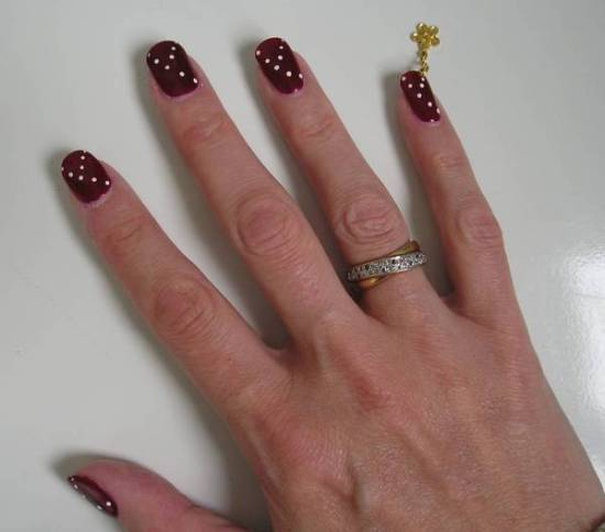 Burgundy Nail Art - 50 Burgundy Nail Designs For 2015 Nail Design Ideaz
