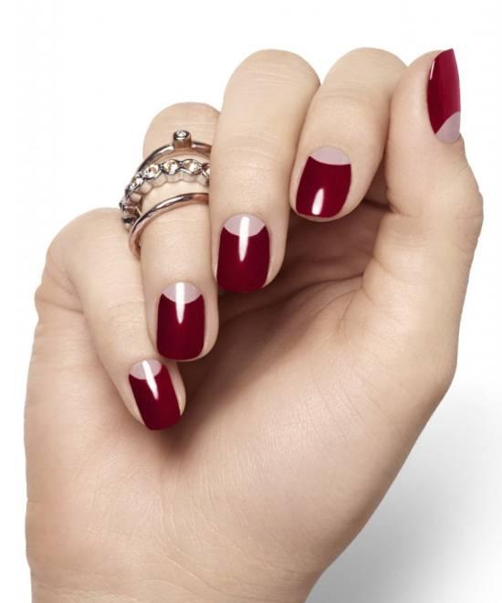 Burgundy Nails - 50 Burgundy Nail Designs For 2015 Nail Design Ideaz