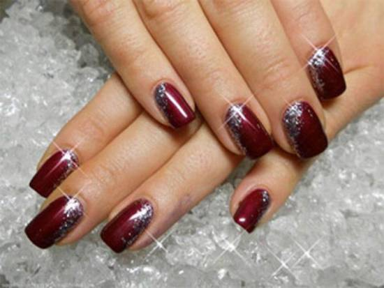 Burgundy Nail Designs - 50 Burgundy Nail Designs For 2015 Nail Design Ideaz